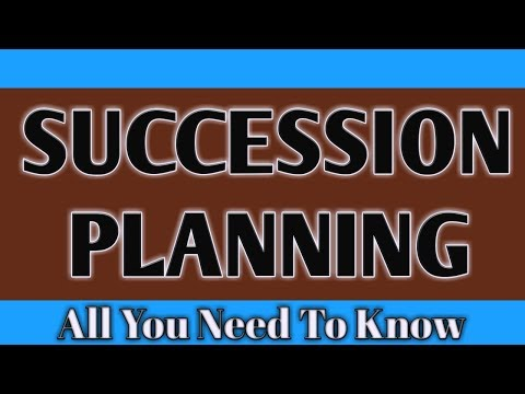 SUCCESSION PLANNING Ll Human Resource Management Ll