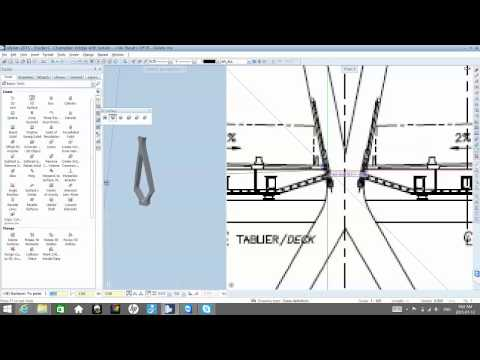 Lesson 6: Modelling Bridge Pillar and Cables [EN]