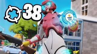 WORLD RECORD 38 KILLS FORTNITE CHAPTER 2