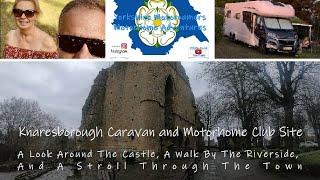 Knaresborough Caravan and Motorhome Club Site Arrival