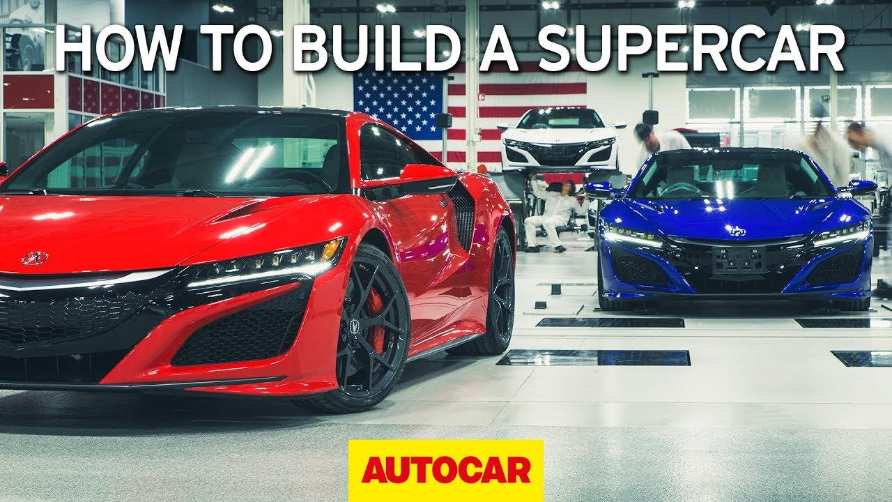 How To Build A Supercar Honda Nsx Factory Tour Autocar