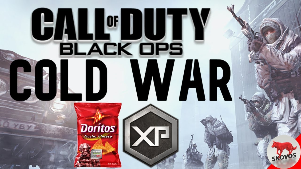 Call Of Duty Black Ops Cold War Leaked Logo Doritos 2x Xp Cod