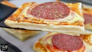Мини-пицца за 7 Минут в Духовке! Просто Палочка Выручалочка!