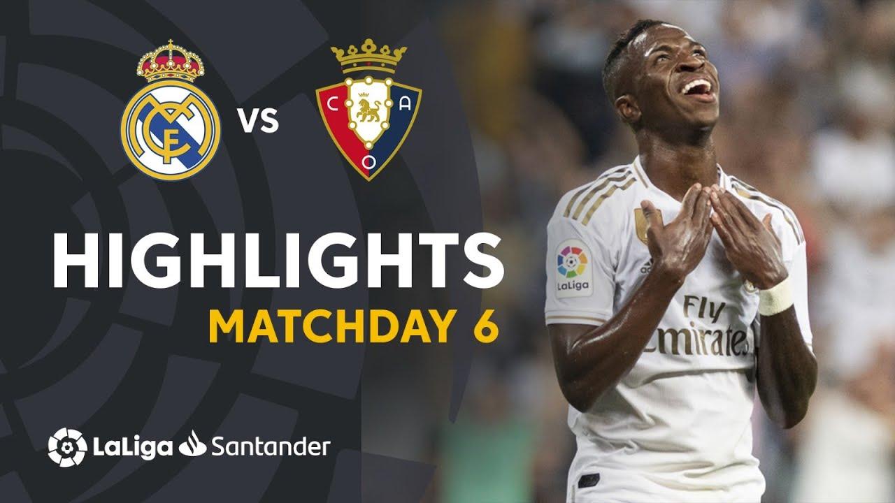 Highlights Real Madrid Vs Ca Osasuna 2 0 Youtube