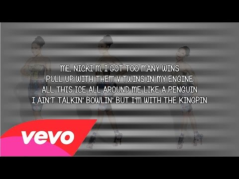 Nicki Minaj - Low (Verse - Lyrics Video)