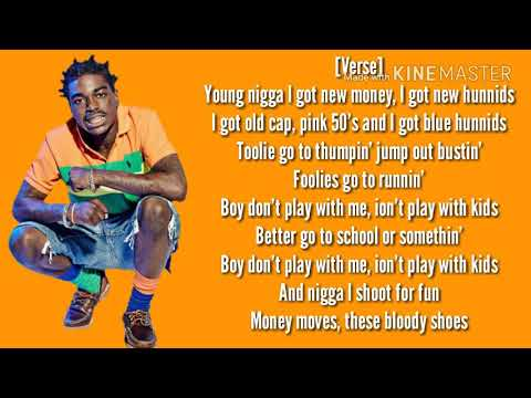 Kodak Black- Bodak Orange (Lyrics)