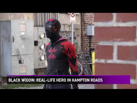 Black Widow: Real-life hero in Hampton Roads