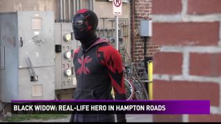 Black Widow: Real-life hero in Hampton Roads