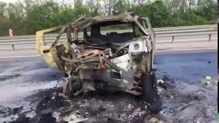 Страшная авария на М 4 Дон, 27 мая 2017