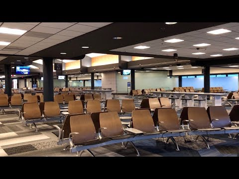 Updated Concourse C Renovations @ Pittsburgh International Airport - November 2018