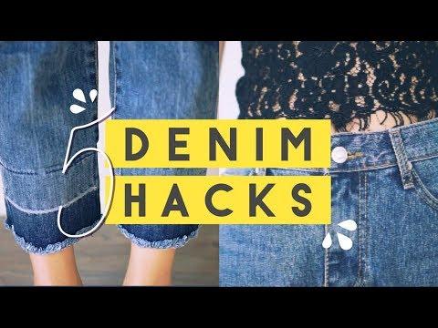5 DIY Denim Hacks