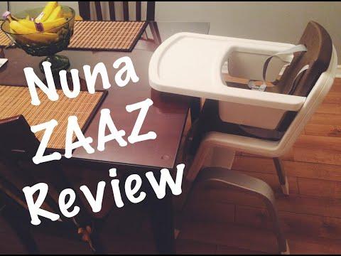 Nuna Baby Zaaz High Chair REVIEW