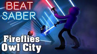 Beat Saber - Fireflies - Owl City (Custom Song)