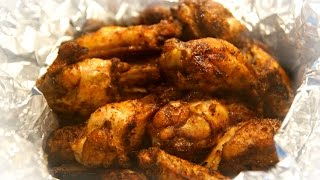 Chicken Wings Video Recipe - Best Home Grilled Chicken Wings - Crispy And Juicy