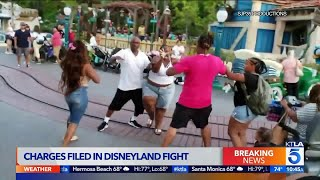 2 Men, Woman Charged in Viral Disneyland Fight