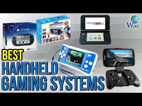 8 Best Handheld Gaming Systems 2017