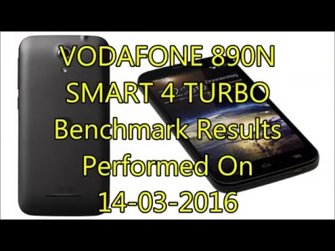 VODAFONE 890N SMART 4 TURBO | Android Benchmark