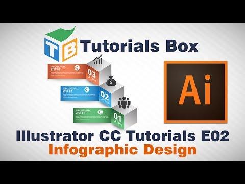 Illustrator Tutorials | E02 | Infographic Design