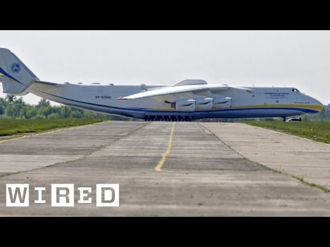 World's Largest Plane : The Antonov An-225
