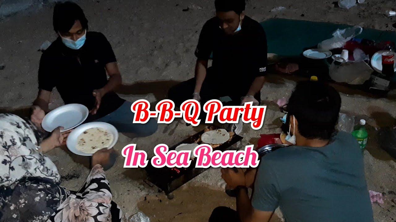 সমুদ্র পাড়ে BBQ PARTY 🥰