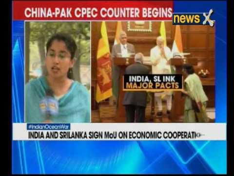 India and Sri Lanka sign MoU on Economic Cooperation