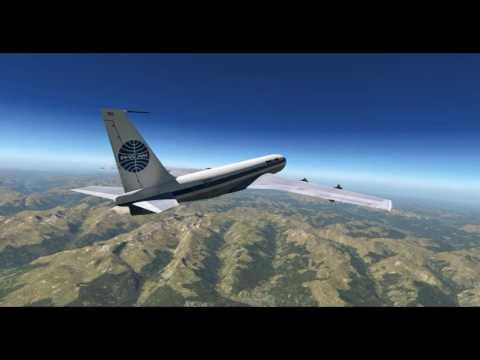 X-Plane 11 -- Boeing 707-420 -- Klagenfurt (LOWK) ➡ Salzburg (LOWS)