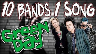 10 Bands 1 Song | Green Day's 'Still Breathing'