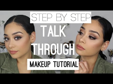 Step by Step Talk Through Makeup Tutorial For Beginners