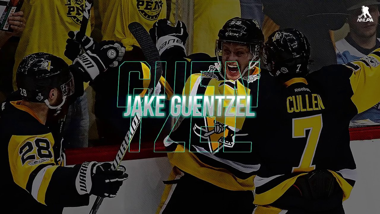 Jake Guentzel goes from rookie to Stanley Cup catalyst, with an assist from his idol