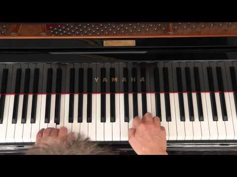 Schneeflöckchen, Weißröckchen – Weihnachtslieder für Klavier – sehr leicht