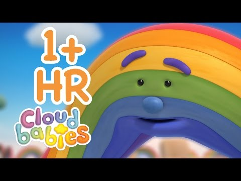 Cloudbabies - Rainbow Compilation | 1 Hour of Cartoons | Bedtime Stories