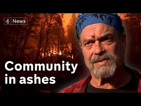 California wildfires: The last man standing in Paradise