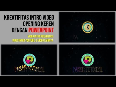 Cara Buat Intro Video Opening yang Keren dengan PowerPoint