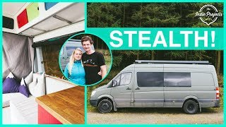One of The Indie Projects's most viewed videos: They Built a Crazy Amazing Adventure Sprinter Van - Van Tour