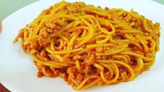 Spaghetti Bolognese/Макароны по-флотски