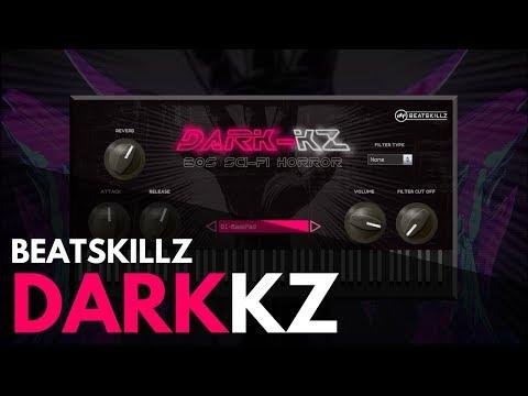 Dark KZ - 80s Sci-Fi Horror VST AU Plugin - Beatskillz com