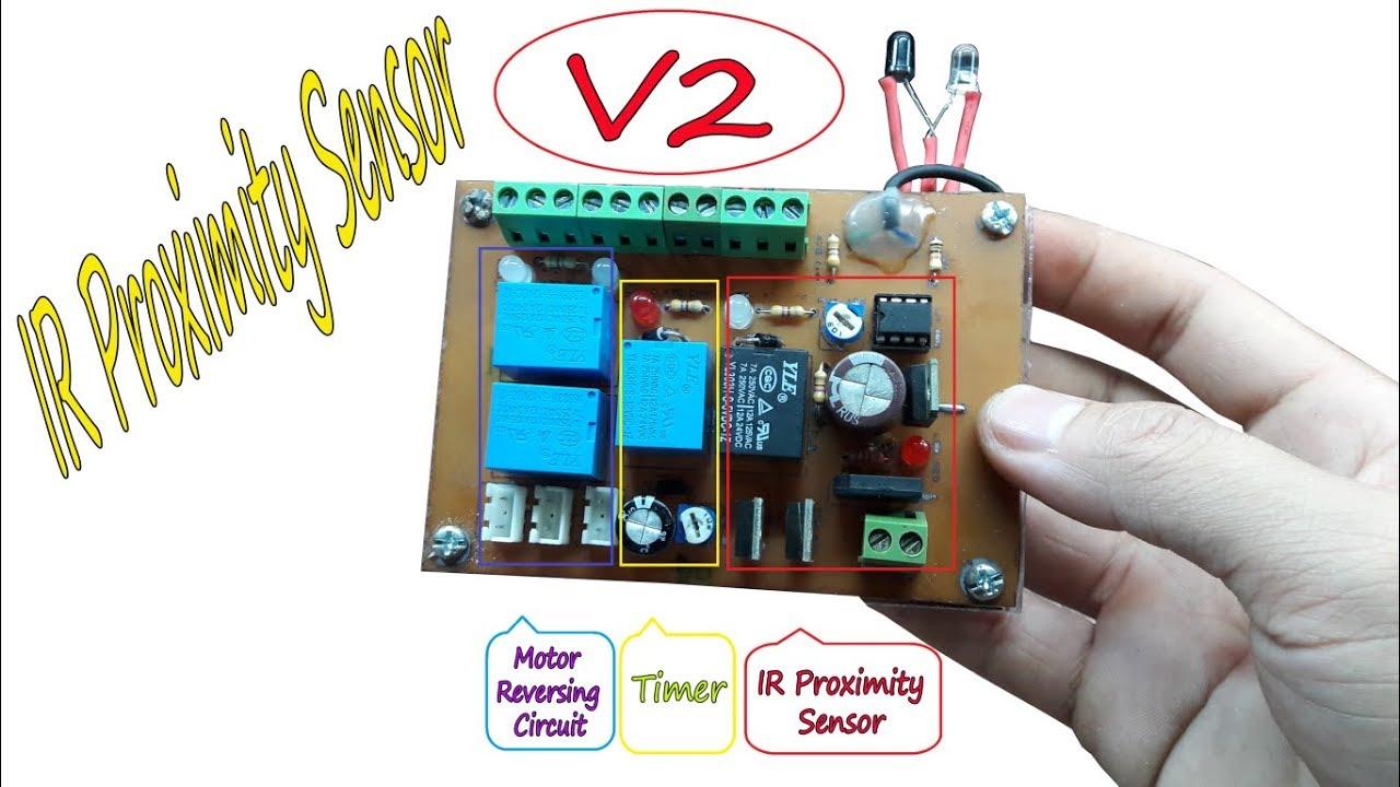 Diy IR Proximity Sensor - V2 by Creative Channel - YouTube