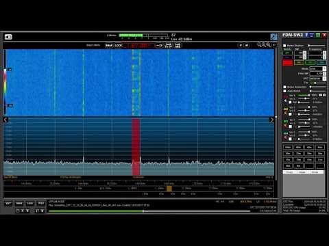 La Coruña  coastal maritime station, 1677 kHz with ID, heard in Oxford UK