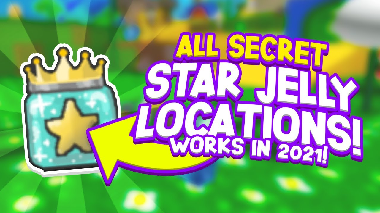 All Secret Ways And Locations To Get Star Jelly In Bee Swarm