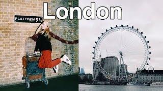 travel vlog: london - study abroad (last trip!)