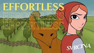 SVRCINA - Effortless (Official Lyric Video)