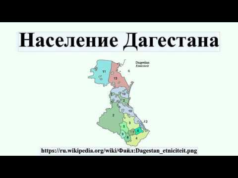 Население Дагестана