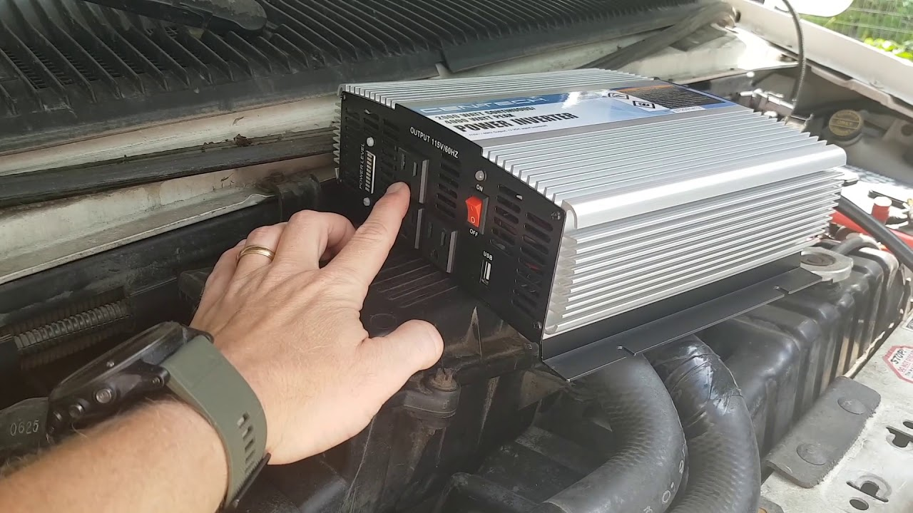 Harbor Freight 2000 watt Inverter - Will It Power an RV AC System?