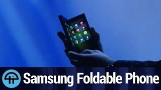 Samsung Foldable Phone Reveal