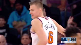 "Kristaps Portzingis New York Knicks Remix ""I Fall Apart"" 2018"