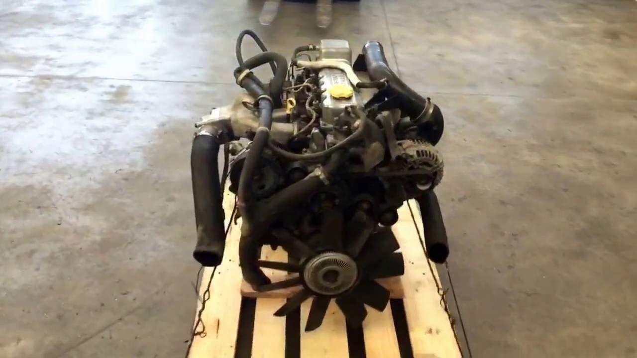 Motore Nissan Cabstar BD30 - YouTube