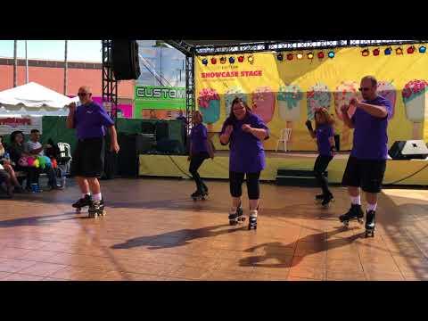 Roller Skating at the San Diego County Fair 2018 – Cha Cha