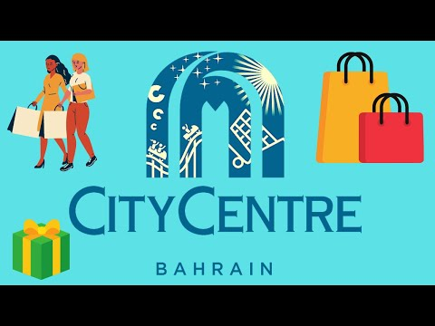 BAHRAIN'S largest SHOPPING MALL, the CITY CENTRE in the MIDDLE EAST
