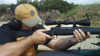 """Remington 700 """"Sendero"""" .300 Win Mag - 3 impact groups at 55 and 110 yards"""