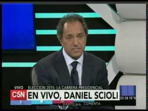 C5N -  Minuto Uno: Entrevista a Daniel Scioli
